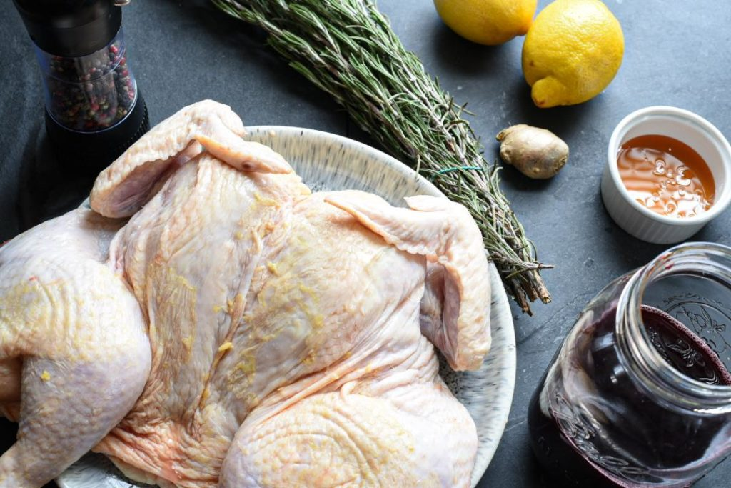 roasting time for whole chicken